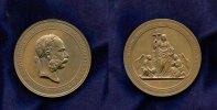 Bronze Medaille 1869, Österreich/Habsburg, Franz Joseph 1848-1916, vz+  444,00 EUR  +  7,00 EUR shipping