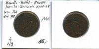 6 Pfennig, 1761, Bentheim-Tecklenburg-Rheda,, Moritz Casimir 1710-1768,... 65,00 EUR  zzgl. 5,00 EUR Versand