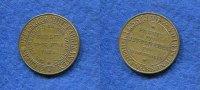 Messing-Marke, 1875, Deutschland/Berlin, Kiesling & Voigt Berlin u.Bern... 75,00 EUR  +  7,00 EUR shipping