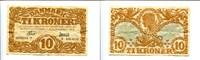 10 Kroner/Kronen, 1933, Dänemark,  III,  110,00 EUR95,00 EUR  zzgl. 5,00 EUR Versand