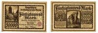 50000 Mark, 26.6.1923, Danzig,  III,  79,50 EUR71,55 EUR  +  7,00 EUR shipping
