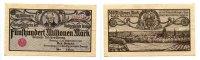 500 Million Mark, 26.9.1923, Danzig,  II-III,  85,50 EUR76,95 EUR  +  7,00 EUR shipping