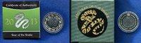 10 Dollar, 2013, Britisch Virgin Islands, Year of the Snake-Jahr der Sc... 79,50 EUR  +  7,00 EUR shipping