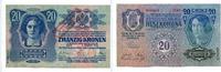 20 Kronen, 1920, Österreich, Aufdruck 4.Oktober 1920, I,  395,00 EUR  +  7,00 EUR shipping