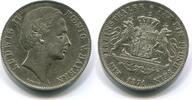 Vereinstaler, 1871, Bayern, Ludwig II.1864-1886, ss/vz,  295,00 EUR  +  7,00 EUR shipping