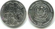 50 Francs, 2009, Ruanda/Rwanda, Elefant, st,  99,00 EUR
