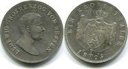 Kronentaler 1825 Hessen-Darmstadt, Ludwig I.1806-1830, vz  345,00 EUR  zzgl. 5,00 EUR Versand