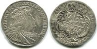 8 Groschen 1753EC Sachsen, Friedrich August II.1733-1763, f.ss  60,00 EUR  zzgl. 5,00 EUR Versand