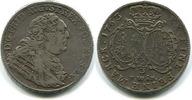 2/3 Taler 1763F.W.o.F. Sachsen, Friedrich August II.1733-1763, f.ss,Hksp.  225,00 EUR  zzgl. 5,00 EUR Versand