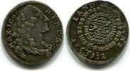 1 Kreuzer 1752 Bayern, Maximilian III Joseph 1745-1777, f.st  120,00 EUR  zzgl. 5,00 EUR Versand