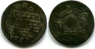 1 Heller 1738 Lippe-Detmold, Ludwig Heinrich Adolf 1782-1789, ss  35,00 EUR  zzgl. 5,00 EUR Versand