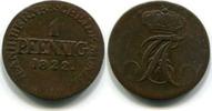 1 Pfennig 1822 Anhalt-Bernburg, Alexius Friedrich Christian 1706-1834, ... 18,00 EUR  zzgl. 5,00 EUR Versand
