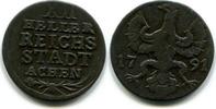 12 Heller 1791 Aachen,  ss  18,00 EUR  zzgl. 5,00 EUR Versand