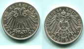 2 Mark 1904A Lübeck,  vz+  245,00 EUR  zzgl. 5,00 EUR Versand