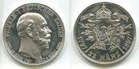 Ag.-Medaille, 1897 Preussen, Wilhelm I 1797-1888 auf seinen 100.Geburts... 135,00 EUR  +  7,00 EUR shipping