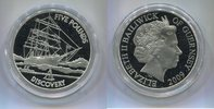"5 Pounds 2009 Guernsey, ""Discovery"" PP,  45,00 EUR  zzgl. 5,00 EUR Versand"
