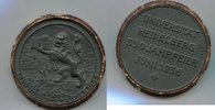 Eisenguss Medaille 1936 Heidelberg, auf die 550 Jahrfeier der Universit... 105,00 EUR  +  7,00 EUR shipping