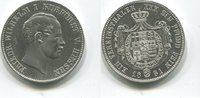 Taler 1861 Hessen Kassel, Friedrich Wilhelm I.1847-1866, vz  285,00 EUR  zzgl. 5,00 EUR Versand