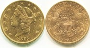 20 Dollars Gold Liberty Double Eagle 1895s USA,  ss/vz  98016 руб 1350,00 EUR  +  2759 руб shipping