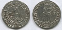 6 Marien Groschen 1668 Braunschweig-Wolfenbüttel, Rudolf August 1666-16... 55,00 EUR  zzgl. 5,00 EUR Versand
