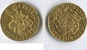 1/4 Dukat 1707 Salzburg, Johann Ernst v.Thun u.Hohenstein 1687-1709, f.vz  355,00 EUR  +  7,00 EUR shipping