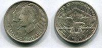 1/2 Dollar 1937 S USA Long Island Tercentenary vz+  100,00 EUR  +  7,00 EUR shipping
