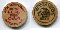 Wooden Nickel 1961 USA - Ellensburg -   10,00 EUR  zzgl. 5,00 EUR Versand