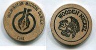 Wooden Nickel 1968 USA - Wilmington -   8,00 EUR  zzgl. 5,00 EUR Versand