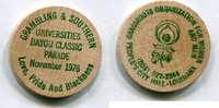 Wooden Nickel 1976 USA - Louisianna -   4,00 EUR  zzgl. 5,00 EUR Versand