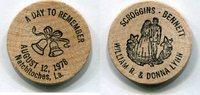 Wooden Nickel 1978 USA - Natchitoches, La. -   3,00 EUR  zzgl. 5,00 EUR Versand