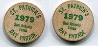 Wooden Nickel 1979 USA - San Antonio, Texas -   5,00 EUR  zzgl. 5,00 EUR Versand