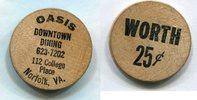 Wooden Nickel  USA - Norfolk, VA. -   3,00 EUR  zzgl. 5,00 EUR Versand