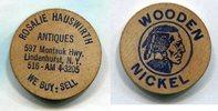 Wooden Nickel  USA - Lindenhurst. NY -   5,00 EUR  zzgl. 5,00 EUR Versand