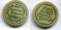 Wooden Nickel  USA - Druber's Daylite Donuts -   4,00 EUR  zzgl. 5,00 EUR Versand