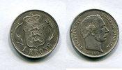 1 Krone 1875 Dänemark ~ Christian IX. 1863 - 1906 ~ / ss-vz  100,00 EUR  +  7,00 EUR shipping