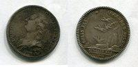 Silber Jeton 1762 Frankreich ~ Louis XVI. 1774 - 1793 ~ ss+  55,00 EUR  +  7,00 EUR shipping