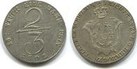 2/3 Taler 1808 Mecklenburg-Schwerin, Friedrich Franz 1785-1837, ss/vz  235,00 EUR  zzgl. 5,00 EUR Versand