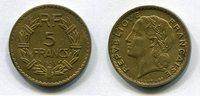5 Francs 1938 Frankreich ~ 3. Republik 1871 - 1940 ~ vz  80,00 EUR  +  7,00 EUR shipping