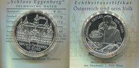 """10 Euro 2002 Österreich, """"Schloß Eggenberg"""" PP  1558 руб 24,50 EUR  +  445 руб shipping"""
