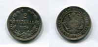1 Markkaa 1870 Finnland ~ ss  3497 руб 55,00 EUR  +  445 руб shipping