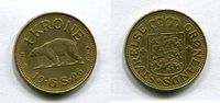 1 Krone 1926 Grönland ~ Greenland ~ ss-  1653 руб 26,00 EUR  +  445 руб shipping