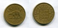 1 Krone 1926 Grönland ~ Greenland ~ ss  1907 руб 30,00 EUR  +  445 руб shipping