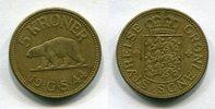 5 Kroner 1944 Grönland ~ Greenland ~ ss+  6994 руб 110,00 EUR  +  445 руб shipping