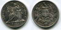 1 Peso 1894 Guatemala ~ vz+  7629 руб 120,00 EUR  +  445 руб shipping