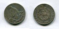 25 Centavos 1961 Guatemala ~ ss  572 руб 9,00 EUR  +  445 руб shipping