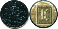 10 Pfennig o.J. Frankfurt, Merz Werke - Briefmarkenkapselgeld, ss  65,00 EUR55,00 EUR  zzgl. 5,00 EUR Versand