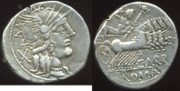 Denar  Römische Republik ~ Anonyme Prägung / ca. 121 v.Chr. ~ ~ ss  95,00 EUR80,75 EUR  +  7,00 EUR shipping