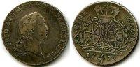 2/3 Taler 1772 Altdeuschland ~ Sachsen / Friedrich August ~ ~ ss-  65,00 EUR  +  7,00 EUR shipping