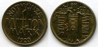 1 Million Mark 1923 Weimarer Republik ~ Stadt Menden 1343-1816 / Messin... 265,00 EUR  zzgl. 5,00 EUR Versand