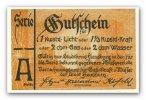 Gutschein o.J. Deutschland ~ Schleswig Holstein / Stadt Flensburg ~ ~ I-  75,00 EUR67,50 EUR  +  7,00 EUR shipping